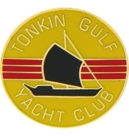 MidMil Tonkin Gulf Club Circle Pin 7/8""