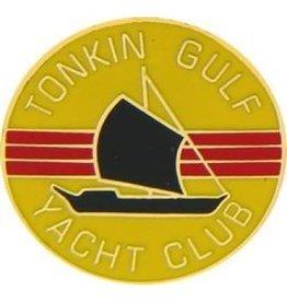 """Tonkin Gulf Club Circle Pin 7/8"""""""