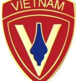 5th Marine Division Vietnam Pin 1""