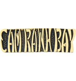 "Cam Rahn Bay Text Pin 1 1/4"""