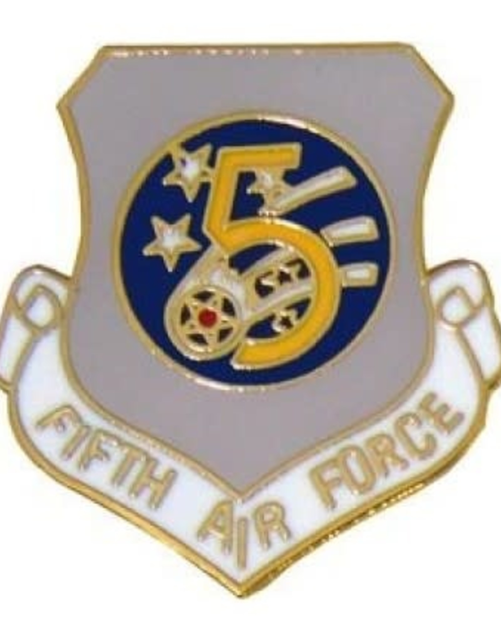 MidMil 5th Air Force Pin 1""