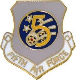 """5th Air Force Pin 1"""""""