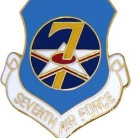 MidMil 7th Air Force Pin 1""