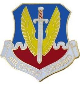 "Air Force Air Combat Command Pin 1 1/8"""