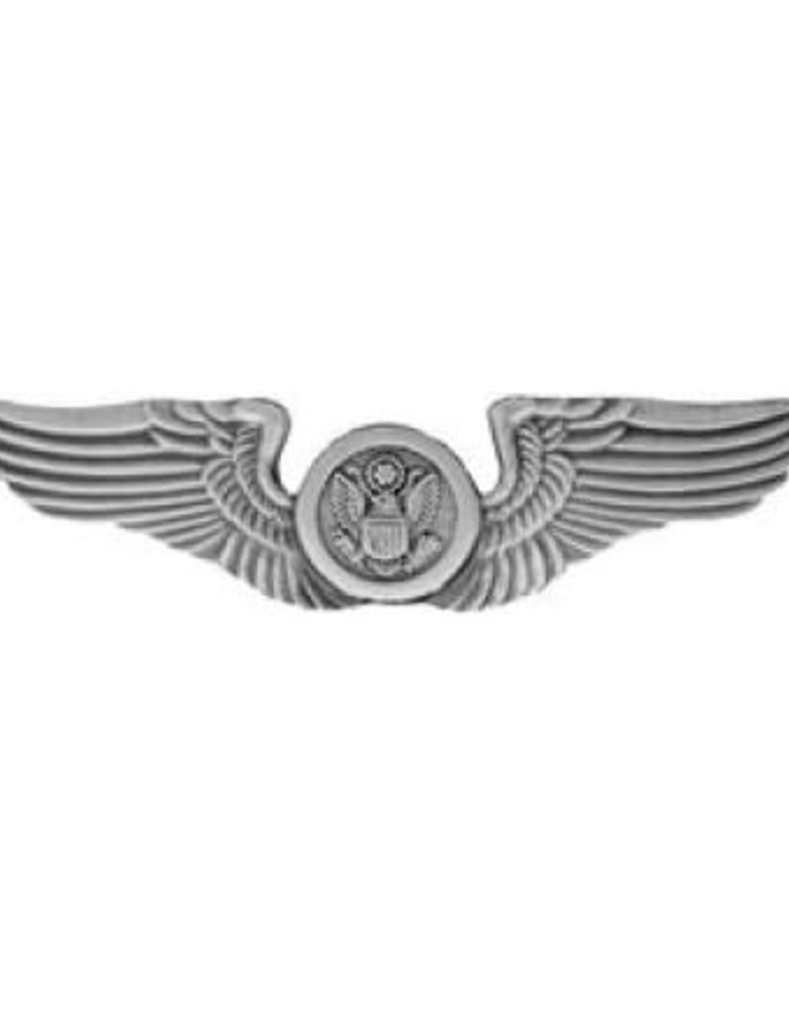 MidMil Air Force Air Crew (enlisted) Wings Pin 2 3/4""