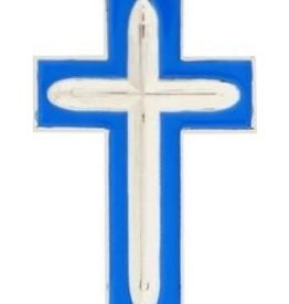 "Air Force Chaplain Cross Pin 1"""