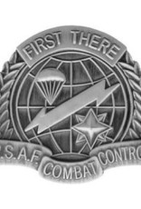 MidMil Air Force Badge Combat Control Pin 1 1/2""