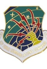 """MidMil Air Force Communication Command Pin 1 1/8"""""""