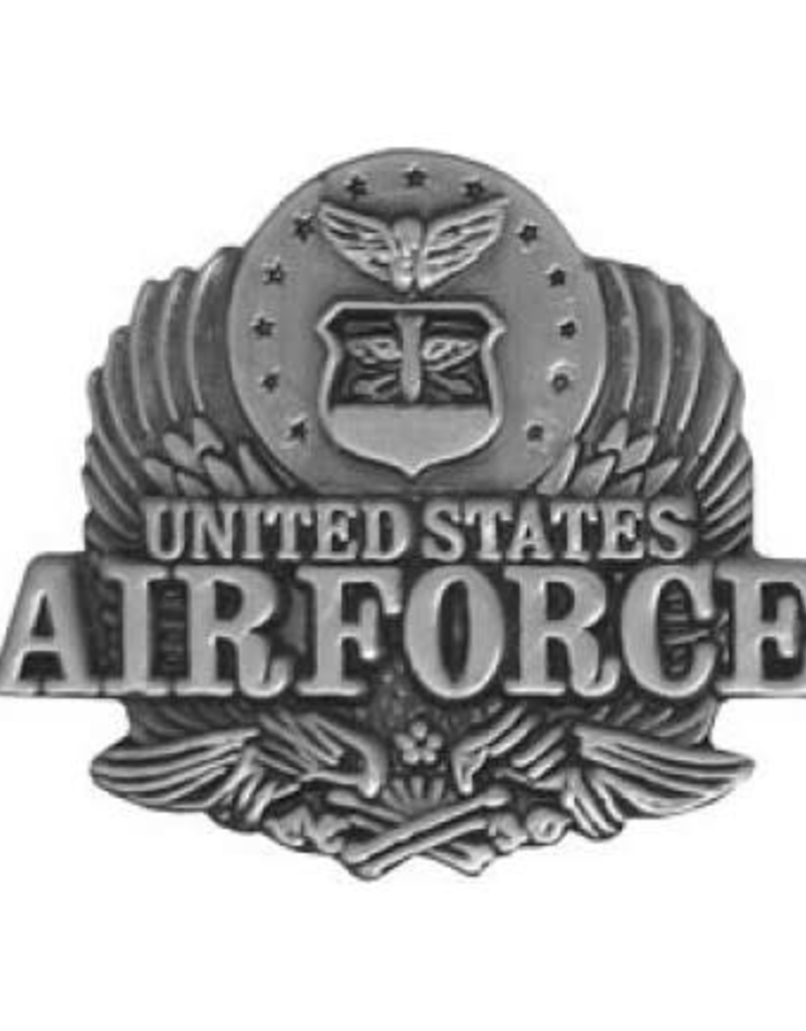 """MidMil United States Air Force Eagle Pin 7/8"""""""