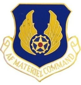 MidMil Air Force Material Command Pin 1 1/8""