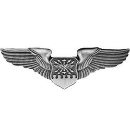MidMil Air Force Navigator Wings Pin Regulation 3""