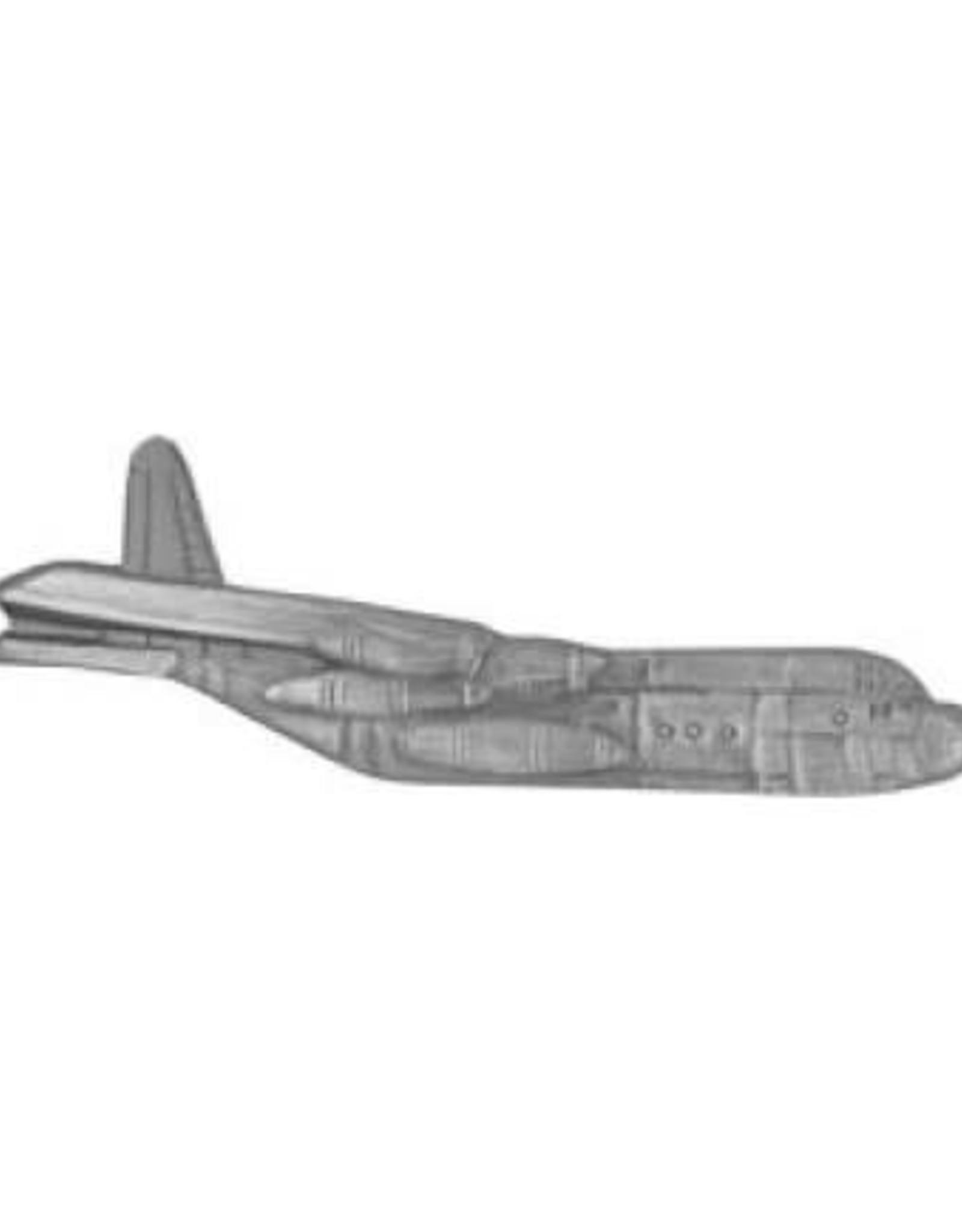 "MidMil C-130 Hercules Airplane Pin 2 1/4"""