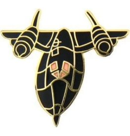 MidMil SR-71 Airplane Pin 1 1/8""