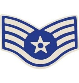 MidMil Air Force SSgt Pin 1 1/16""