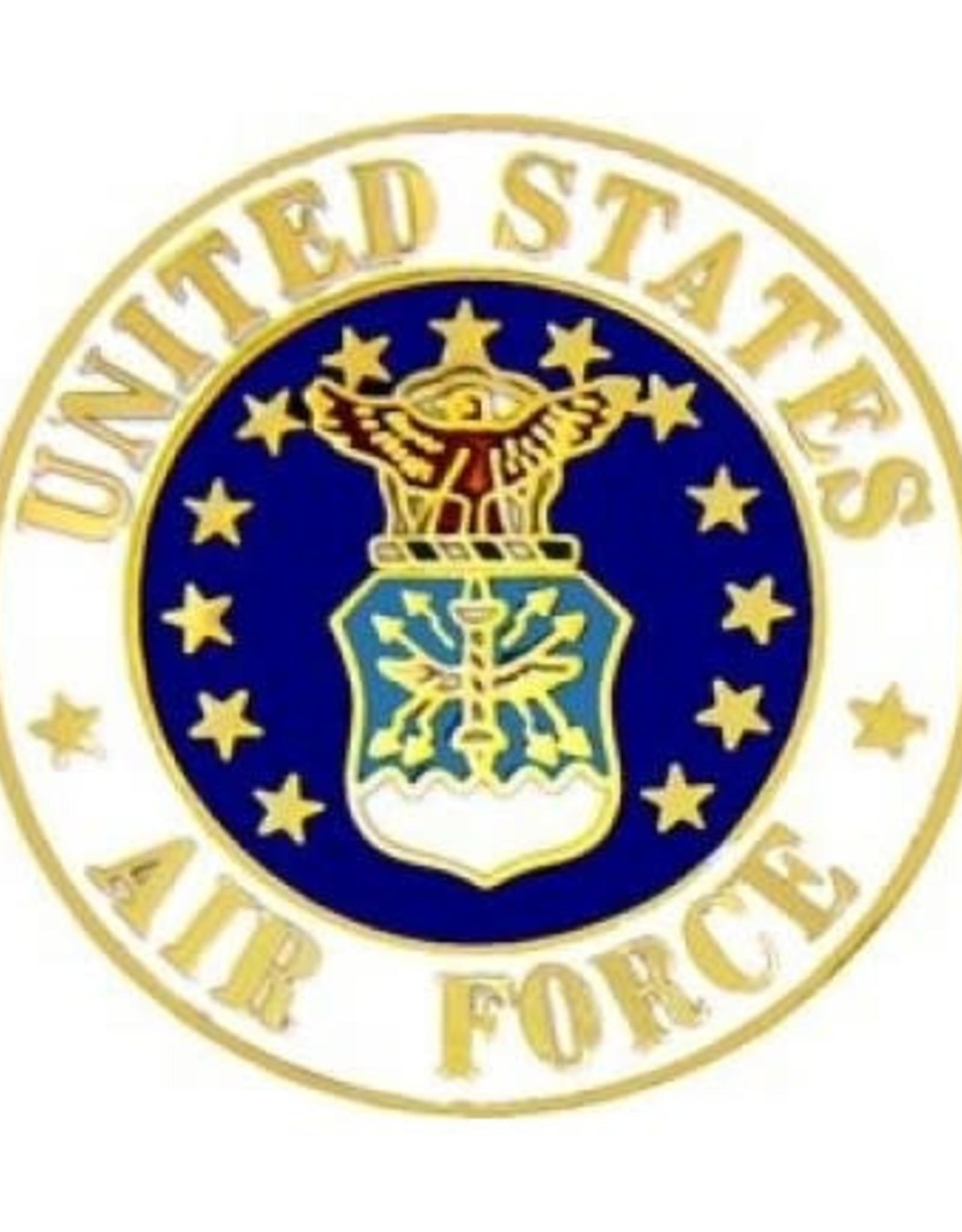 "MidMil Air Force Seal Pin 3/4"""