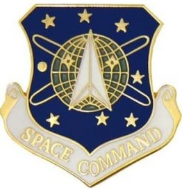 MidMil Air Force Space Command Pin 1 1/8""