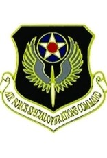 """MidMil Air Force Special Operations Command Pin 1 1/8"""""""