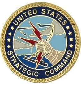 MidMil Air Force Strategic Command Pin 1""