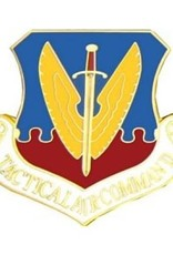 """MidMil Air Force Tactical Air Command Pin 1 1/8"""""""