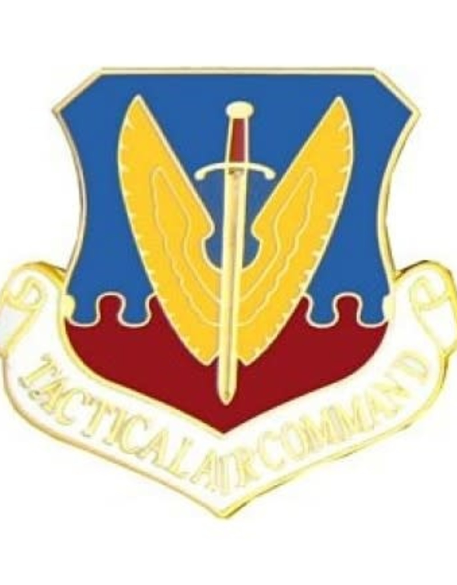 """MidMil Air Force Tactical Air Command Pin 3/4"""""""