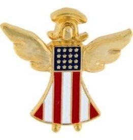 "American Guardian Angel Pin 7/8"""
