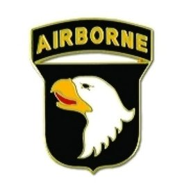 MidMil 101st Airborne Division Emblem Pin 1""