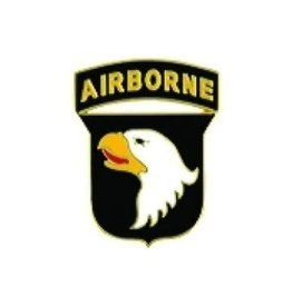MidMil 101st Airborne Division Emblem Pin 5/8""