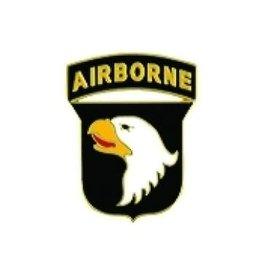 "MidMil 101st Airborne Division Emblem Pin 5/8"""