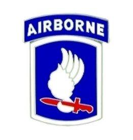 "MidMil 173rd Airborne Brigade Emblem Pin 1"""