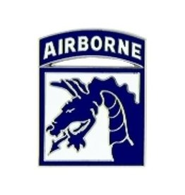 MidMil 18th Airborne Corps Emblem Pin 7/8""