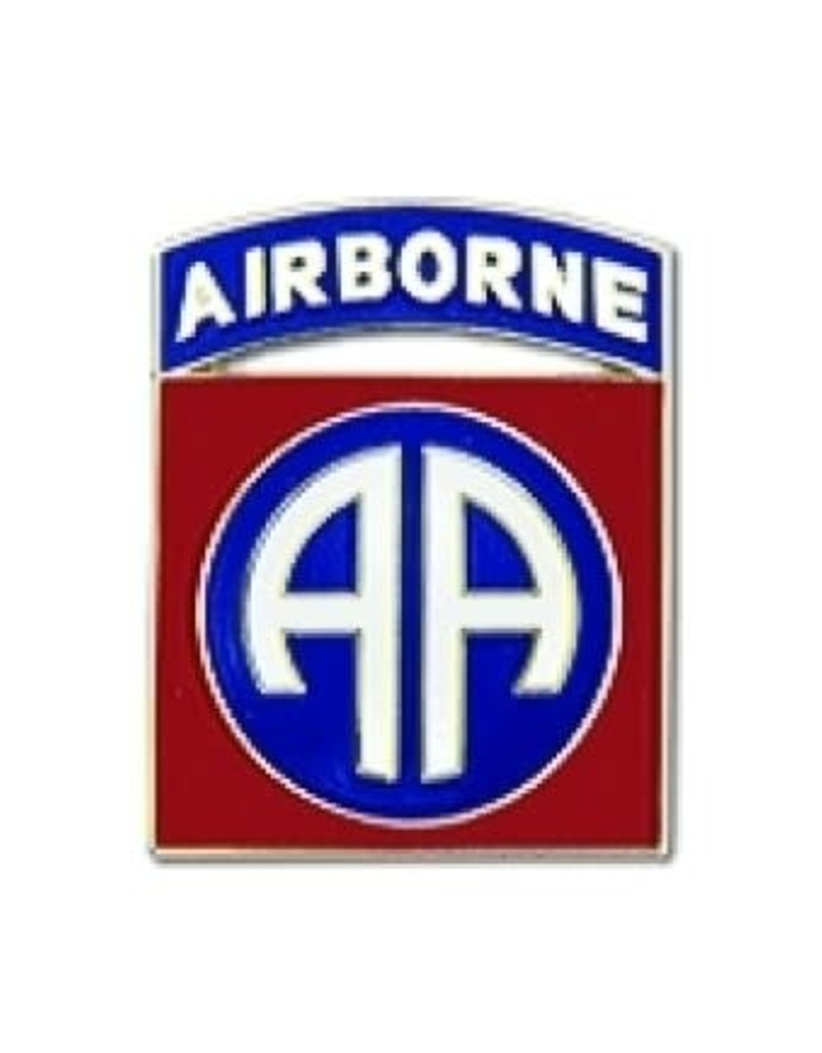 MidMil 82nd Airborne Division Emblem Pin 7/8""