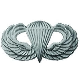 MidMil Basic Parachutist Badge Pin 1 1/4""