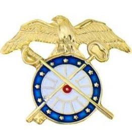 "MidMil Army Quartermaster Corps Emblem Pin 1"""