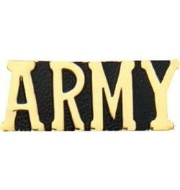 MidMil Army Text Pin 1 1/8""