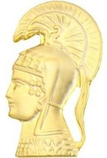 "MidMil Woman's Army Corp (WAC - Athena) Pin 3/4"""