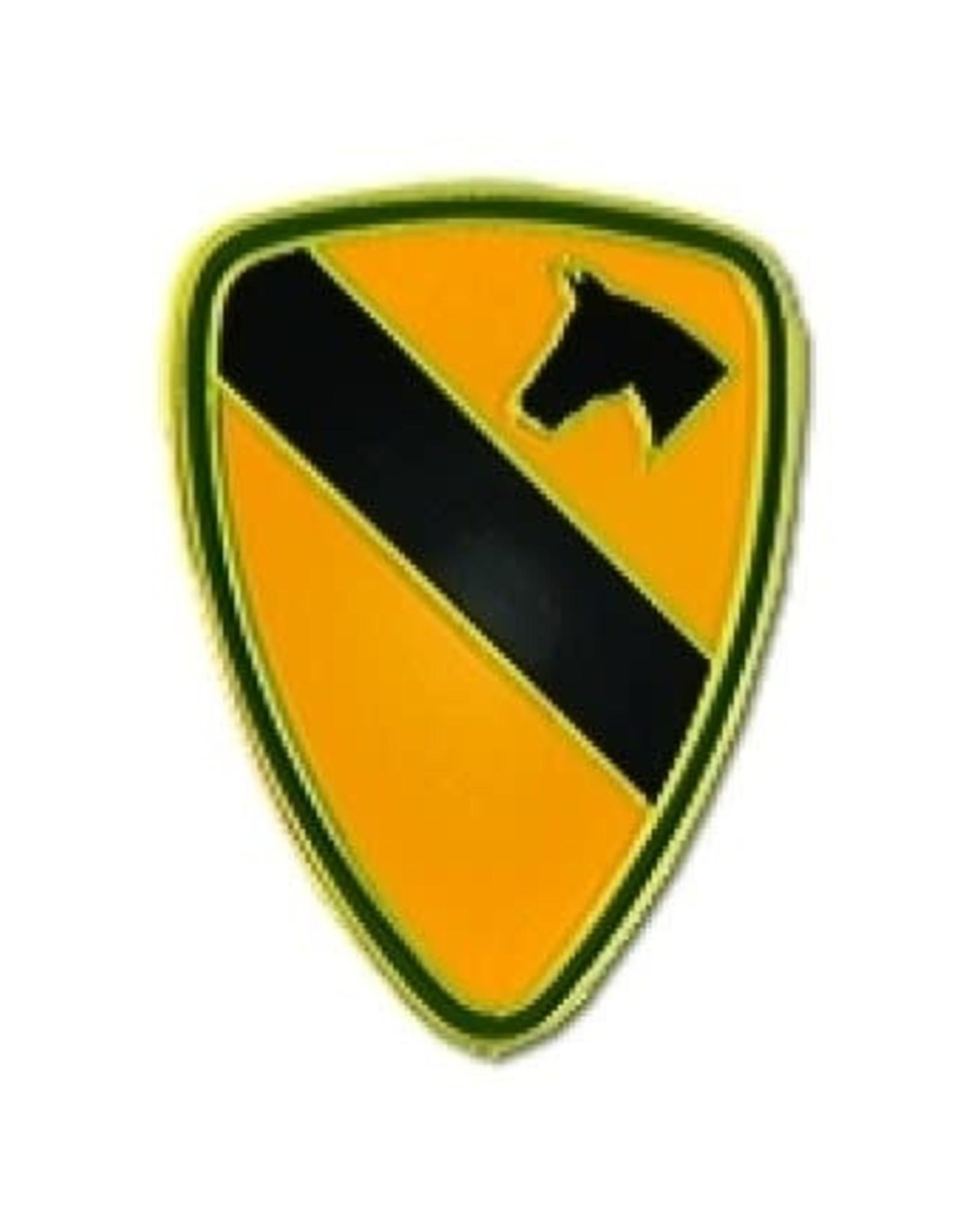 "MidMil 1st Cavalry Pin 1"""