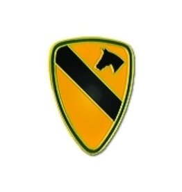 "1st Cavalry Pin 5/8"""