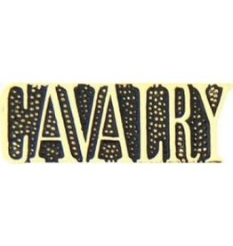 MidMil Cavalry Text Pin 1 1/8""