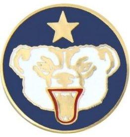 """Alaska Defense Command Pin 7/8"""""""