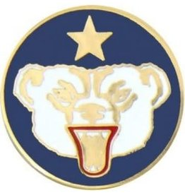 MidMil Alaska Defense Command Pin 7/8""