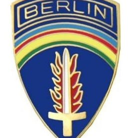 MidMil US Army Berlin Command Pin 1""