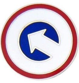 "1st Logistic Command Pin 7/8"""