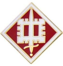 "Army 18th Engineer Brigade Emblem Pin 3/4"""