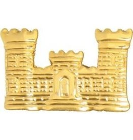 """Army Corps of Engineers Emblem Pin 1 1/8"""""""