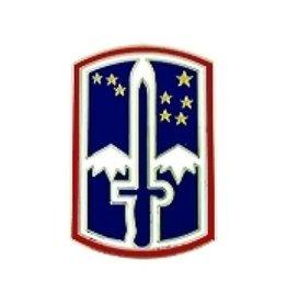 "172nd Infantry Brigade Pin 7/8"""