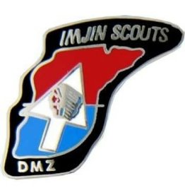 "MidMil 2nd Infantry Division ""Imjin Scouts"" Emblem Pin 1 1/8"""