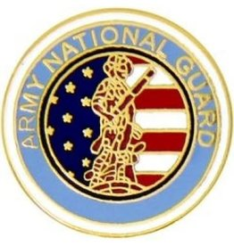 MidMil Army National Guard Pin 3/4""