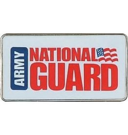 MidMil Army National Guard  Rectangular Pin 1 1/8""