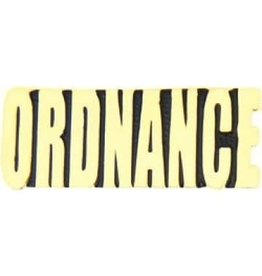 MidMil Army Ordnance Text Pin 1 1/4""