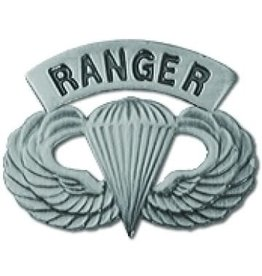 """MidMil Army Ranger Parachutists Wings Pin 1 1/4"""""""